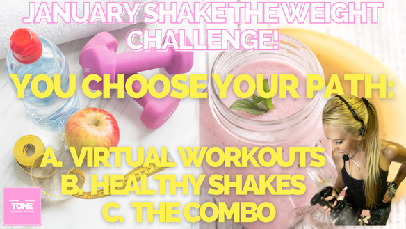 LET'S GET READY FOR OUR JANUARY CHALLENGE! GLITTERU.COM