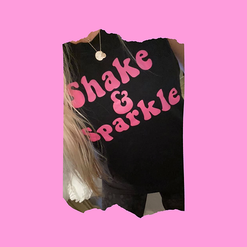 Shake & Sparkle Cropped Tank