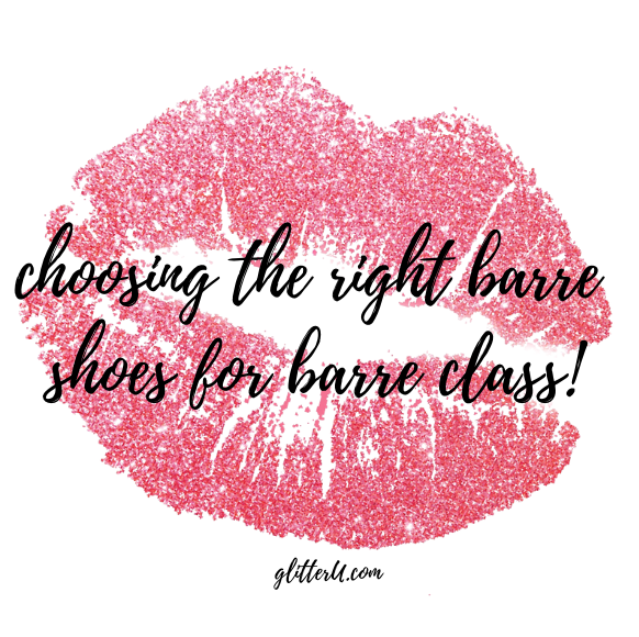 The RIGHT BARRE shoes for BARRE class!
