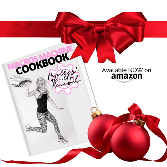 IT'S HERE! and YOU ARE THE FIRST TO KNOW ABOUT IT! The MACROS MACHINE COOKBOOK! #MacrosMachinE