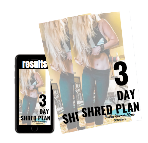 3-Day Shred Plan | Now available on Amazon.com Kindle version
