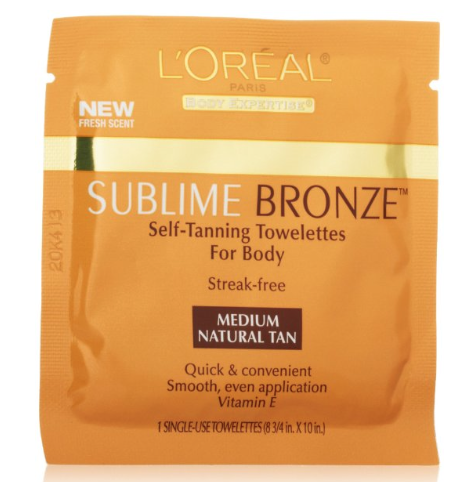 tanning wipes