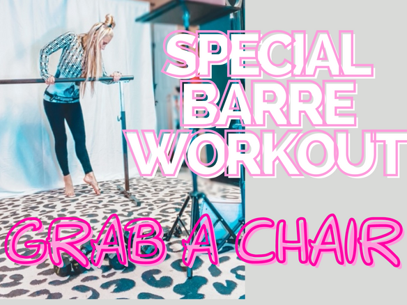 IT'S CHRISTMAS MORNING JOIN ME REAL QUICK FOR A SPECIAL :10 MINUTE BARRE WORKOUT!!!
