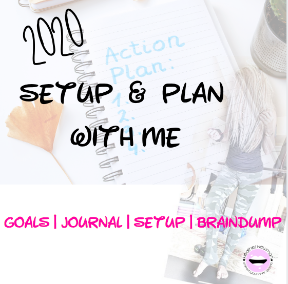 Set up your dream life & Plan with Me! : Heather Newman