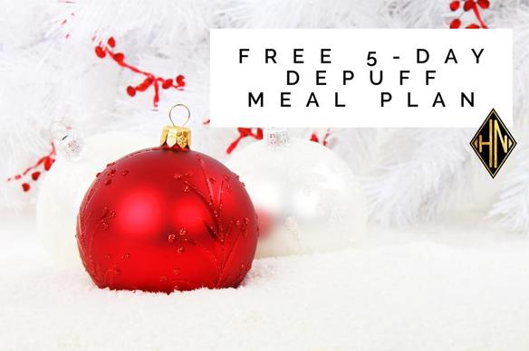 Free 5-Day DEPUFF meal plan | Nola Fit