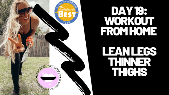 Bikini Legs: Lean Legs & Thinner Thighs | Heather Newman Fitness