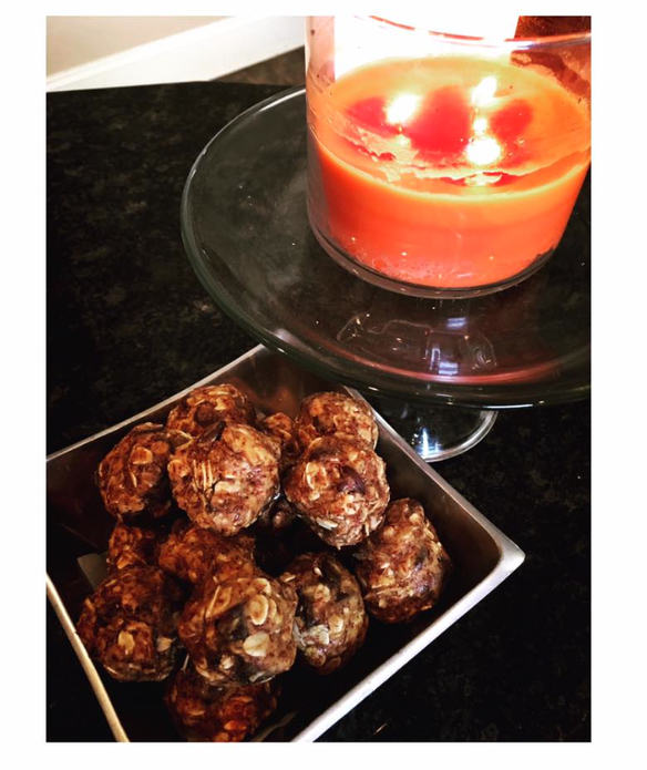 Healthy | Energy Balls | Recipe | and BadAss Books I'm loving