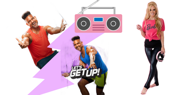 WHAT IS THIS CRAZY NEW WORKOUT PROGRAM? SHAUN T LET'S GET UP! YOUR KIT OPTIONS TO JOIN HERE!