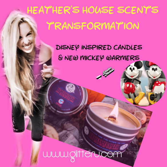 sharing my favorite Disney candles: bring magic into your own home: grab my 15% Discount code