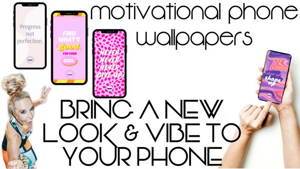 BRING A NEW LOOK & VIBE TO YOUR PHONE THIS MONTH! december MOTIVATIONAL PHONE WALLPAPERS