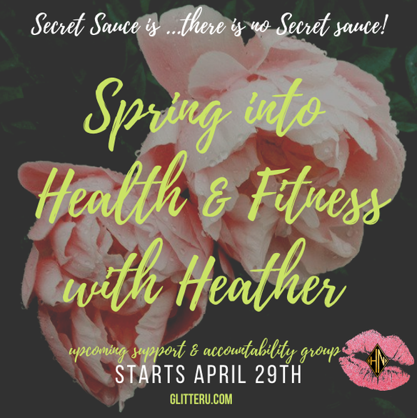 Spring into Health & Fitness | Upcoming Accountability Group with Heather