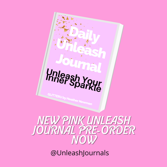 NEW BUBBLE GUM PINK UNLEASH JOURNAL OFFICIALLY AVAILABLE FOR PRE-ORDER NOW!