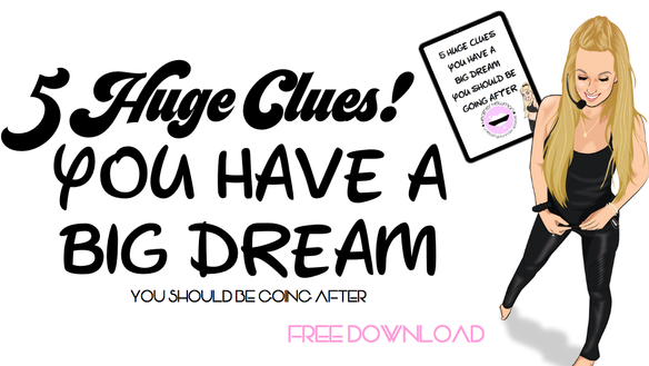 DID YOU GET THIS SPECIAL? 5 HUGE CLUES THAT YOU HAVE A DREAM YOU SHOULD BE GOING AFTER   GLITTER