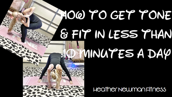 HOW TO GET TONE AND FIT!  | HEATHER NEWMAN FITNESS | GLITTERU.COM