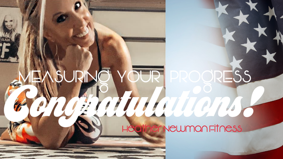 BOOM! You did it!  I am so proud of you! | Heather Newman Fitness