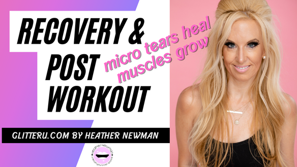 LET'T TALK POST WORKOUT & RECOVERY! HOW TO PREVENT TEARS IN YOUR MUSCLES!