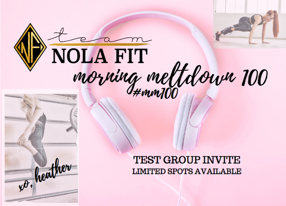 Free Workout | Be a part of my exclusive TEST GROUP | #MM100 | Morning Meltdown 100