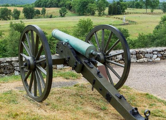 Washington, D.C. with Civil War Battlefields