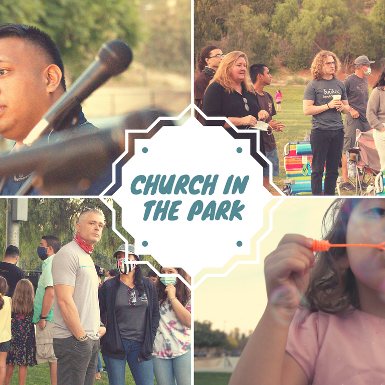 June 27th Church in the Park