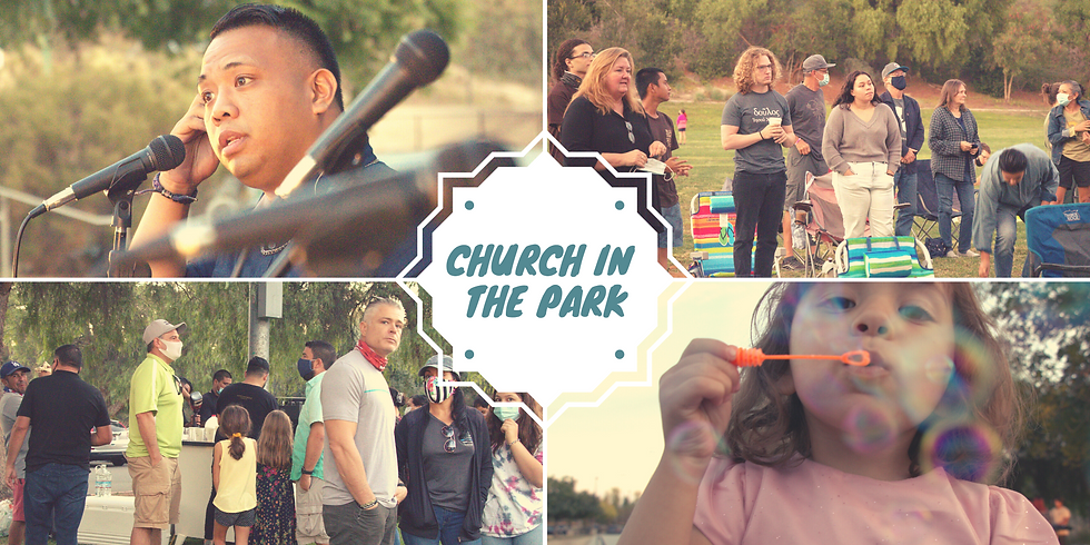 June 13th Church in the Park