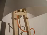 "Leuchtenserie ""joint - secret of a traditional craft"""