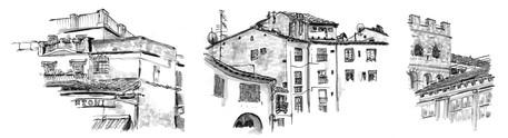 """Zeichnungen """"Lucca"""""""