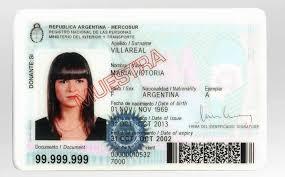 Documento Nacional de Identidade Argentino (DNI)