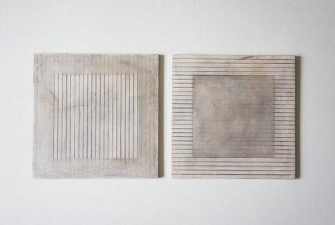 Malerei - Mischtechnik auf Holz