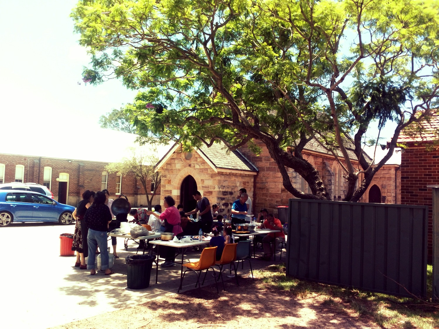 BBQ at Church