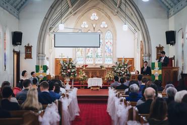 牧师婚礼证道
