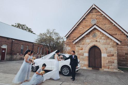 在我们教堂的婚礼