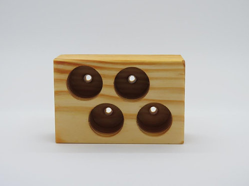 Wooden Stand 4 - large hole