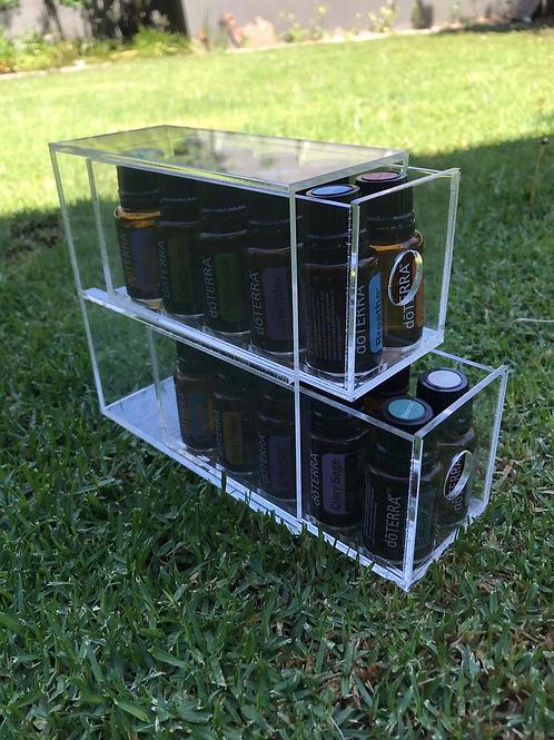 2 tier acrylic tower