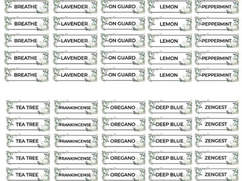 Top 10 roller bottle labels