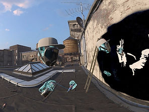 Kingspray Graffiti by Infectious Ape for the Oculus Quest