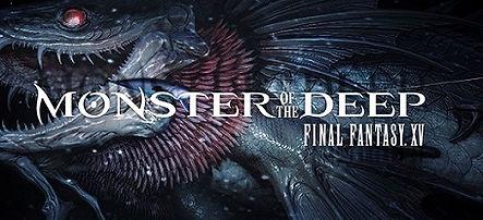 Final Fantasy XV: Monster of the Deep logo for PSVR
