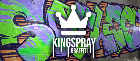 Kingspray Graffiti by Infectious Ape logo