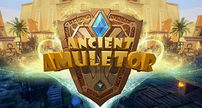 Ancient Amuletor logo by TiGames for PSVR