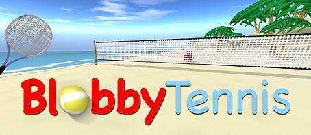 Blobby Tennis by SlinDev logo