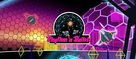 Rhythm 'n Bullets by DB Creations logo