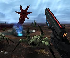 Crashland by Llyr ap Cenydd for the Oculus Quest 2 and Oculus Quest platforms