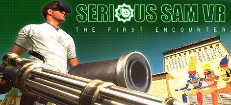 Serious Sam VR: The First Encounter logo
