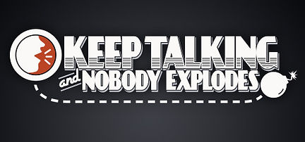 Keep Talking & Nobody Explodes by Steel Crate Games logo