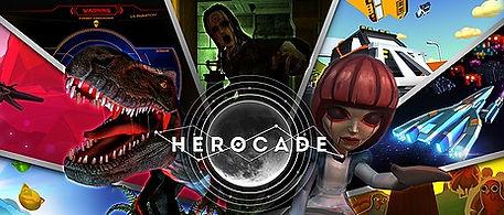 HeroCade by Lucid Sight logo