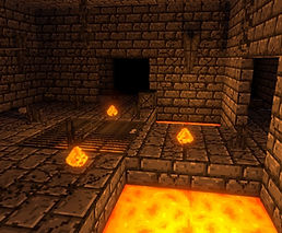 Ancient Dungeon VR by Eric Thullen for the HTC Vive, Oculus Rift, Valve Index and Windows Mixed-Reality platforms