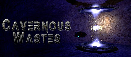 Cavernous Wastes logo by Pouncing Kitten Games for PSVR