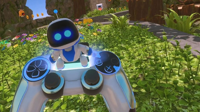 Astro Bot makes the case for all VR platforms including a tracked gamepad