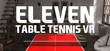 Eleven: Table Tennis VR by For Fun Labs logo