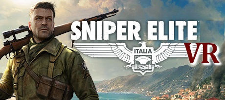 Sniper Elite VR by Rebellion logo