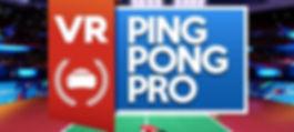 VR Ping Pong Pro by Reddoll Srl logo
